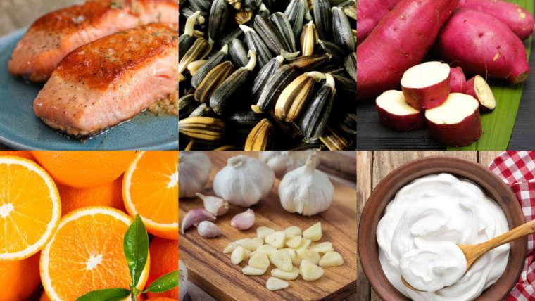Conheça os alimentos que melhoram a sua imunidade