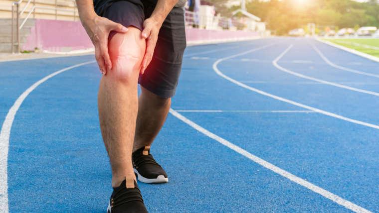 A tendinite patelar é uma lesão comum nos corredores